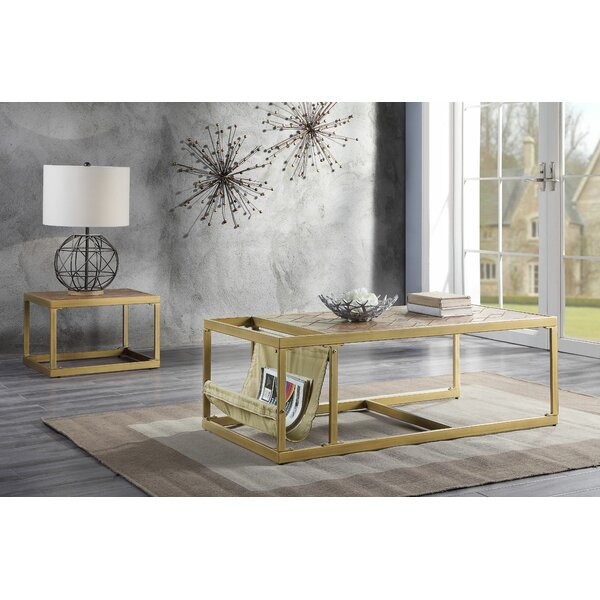 Pamela 2 Piece Coffee Table Set by 17 Stories