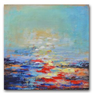 'Cease to Begin' Painting Print on Wrapped Canvas by Benjamin Parker Galleries