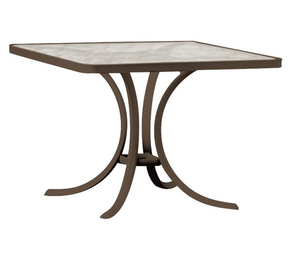 Boulevard Plastic/Resin Dining Table by Tropitone
