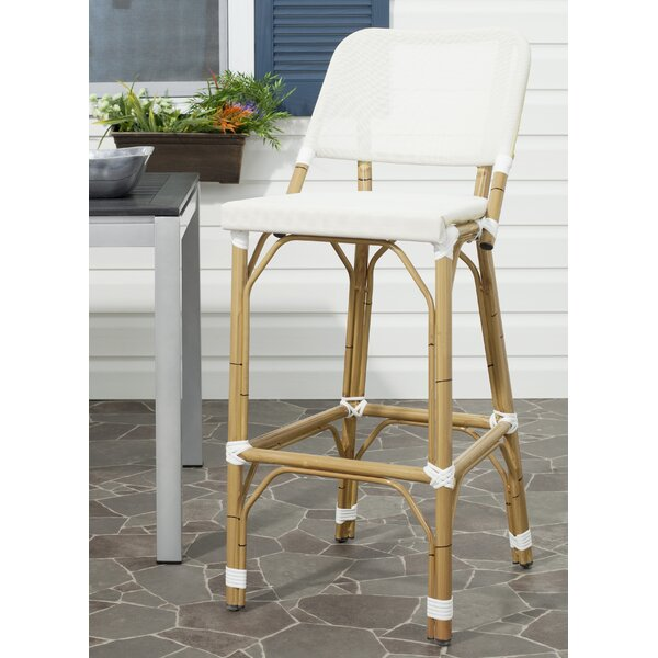 Aiyana 30 Patio Bar Stool by Mistana