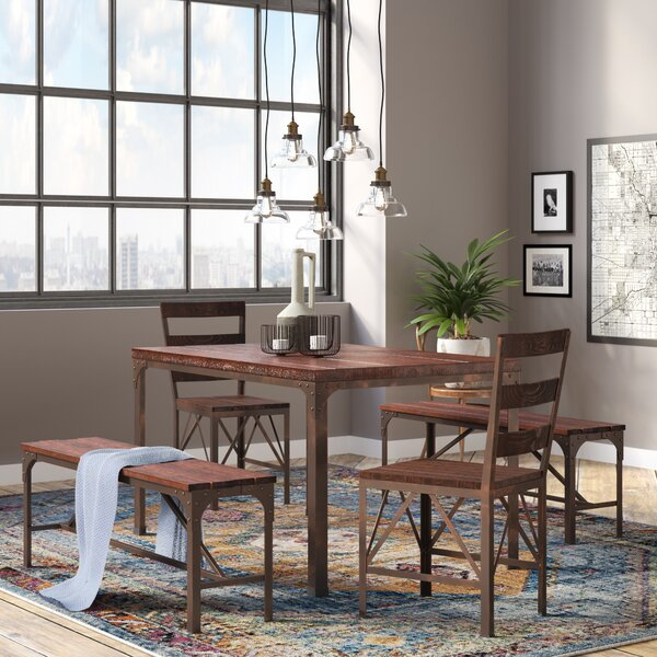 Dikili 5 Piece Dining Set by Trent Austin Design