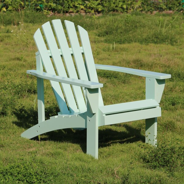 Brody Solid Wood Adirondack Chair by Rosecliff Heights Rosecliff Heights