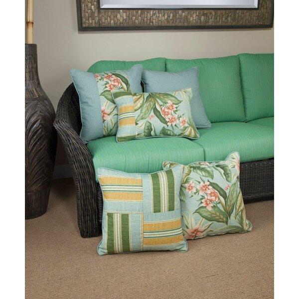 St. Marks Place Mist Indoor/Outdoor Lumbar Pillow