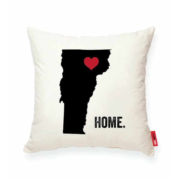 Pettry Vermont Cotton Throw Pillow by Wrought Studio