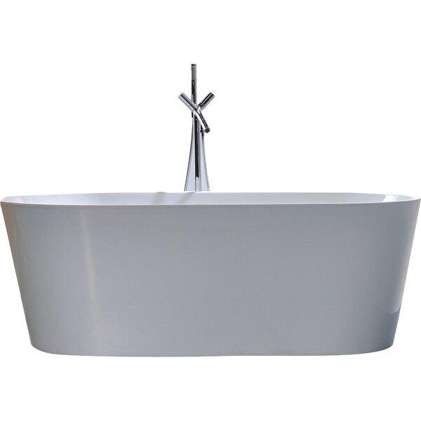 67.7 x 32 Soaking Bathtub by Legion Furniture