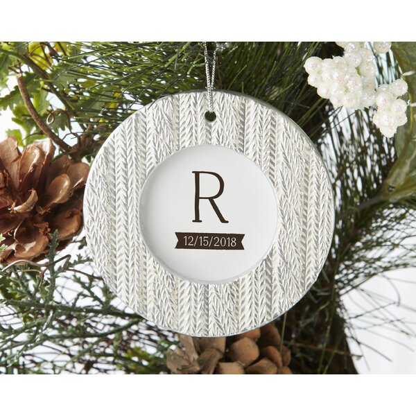Cable Knit Ornament Place Card Holder (Set of 12) by The Holiday Aisle