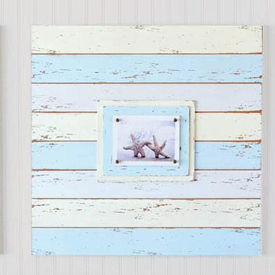 Coastal Delights Plank Picture Frame by Cape Craftsmen