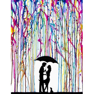 ''Two Step'' by Marc Allante Graphic Art on Wrapped Canvas by Jaxson Rea