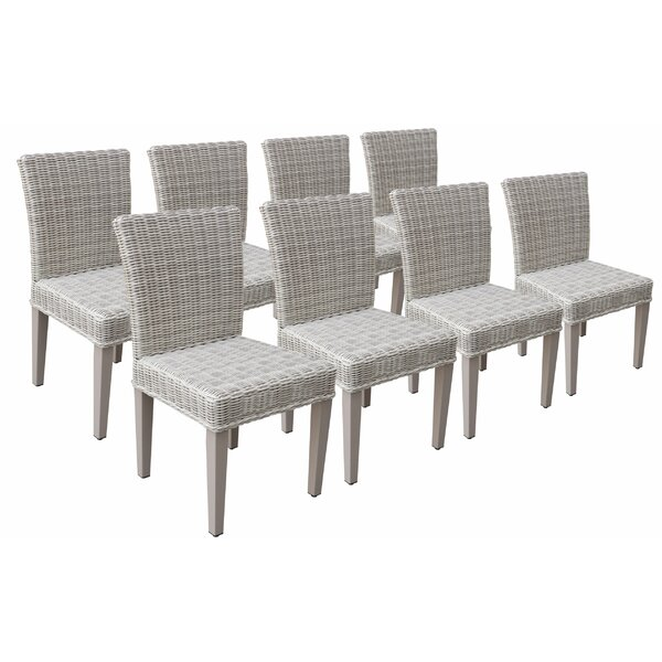 Sachiko Patio Dining Chair (Set of 8) by Breakwater Bay