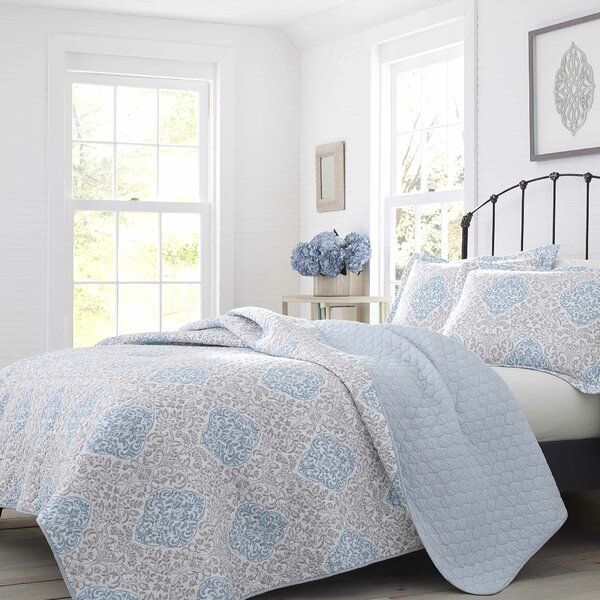 Winnie Cotton Reversible Quilt Set by Laura Ashley Home by Laura Ashley Home
