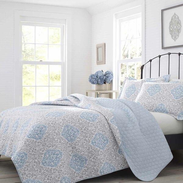Winnie Cotton Reversible Quilt Set by Laura Ashley Home by Laura Ashley Home