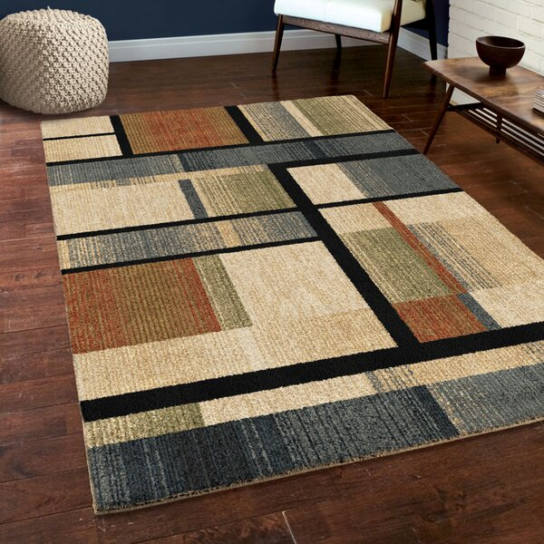 Angel Blue/Beige/Green Area Rug by Corrigan Studio