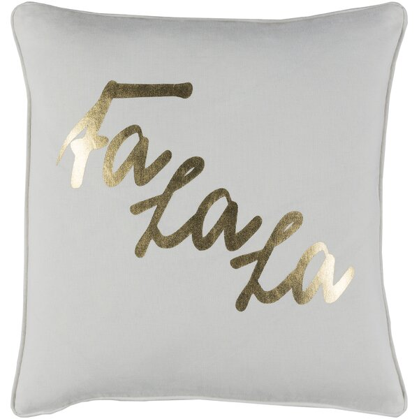Doyon Cotton Pillow Cover by The Holiday Aisle