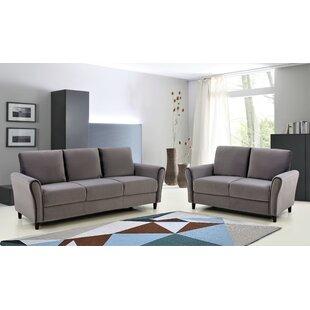 Williamsbridge 2 Piece Living Room Set by House of Hampton®