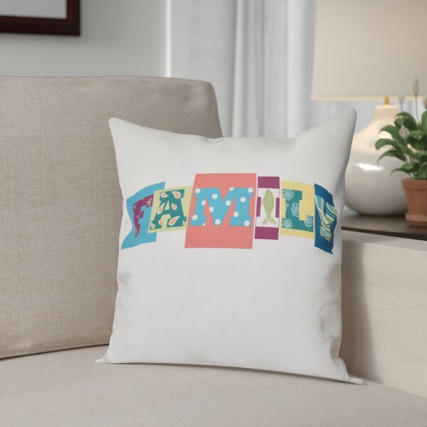 Scotland Family Fun Throw Pillow by Red Barrel Studio