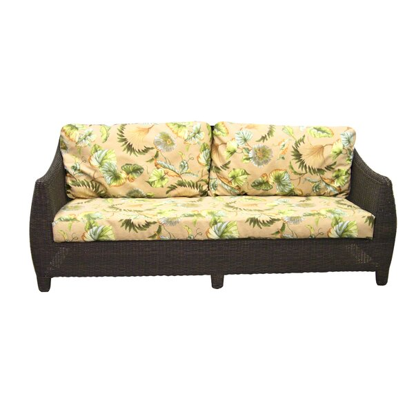 Outdoor Bay Harbor Sofa with Cushions by Padmas Plantation