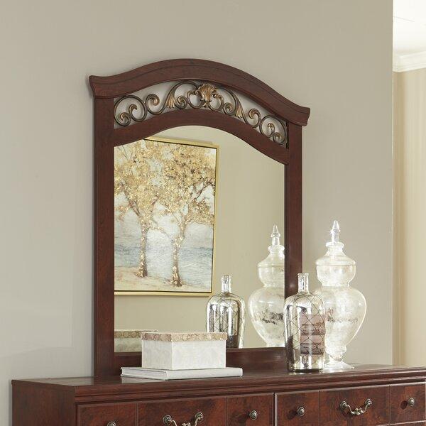 Clevenger Arched Dresser Mirror by Fleur De Lis Living