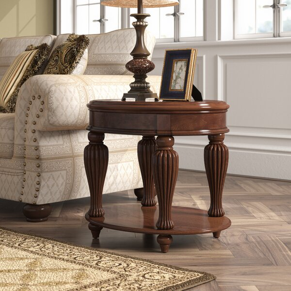 Rhuddlan End Table by Astoria Grand Astoria Grand