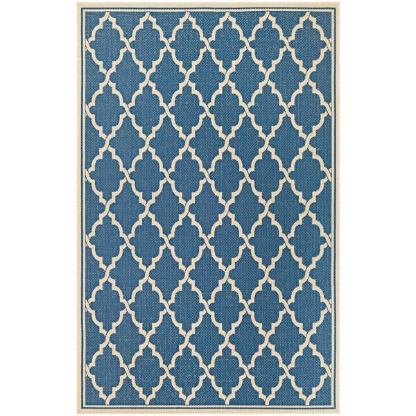 Cardwell Blue Indoor/Outdoor Area Rug by Charlton Home