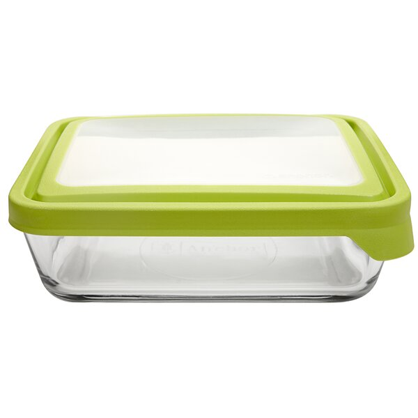 TrueSeal 6 Cup Rectangular Baking Dish (Set of 4) by Anchor Hocking