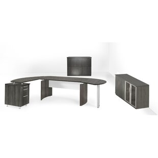 Medina Series 3-Piece L-Shape Desk Office Suite