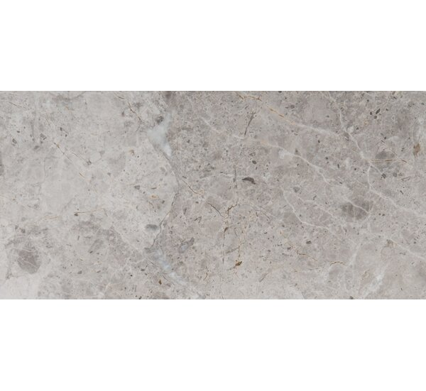 Marble 16 x 32 Field Tile in Silver by Emser Tile