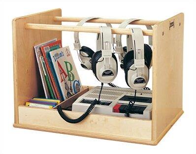 Audio Caddie Multimedia Tabletop Storage By Jonti-Craft