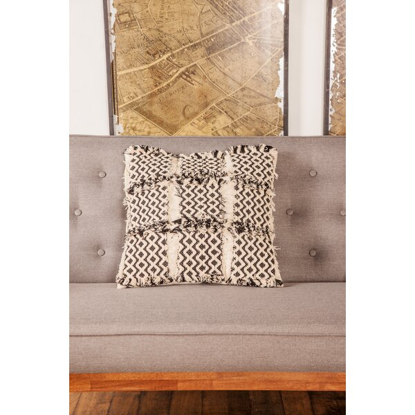 Gorecki Rustic Pillow Cover by Bungalow Rose