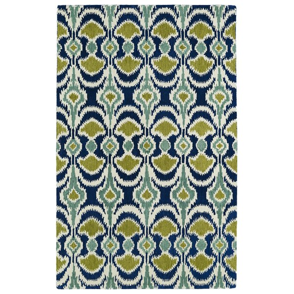 Anns Blue/Green Area Rug by Charlton Home