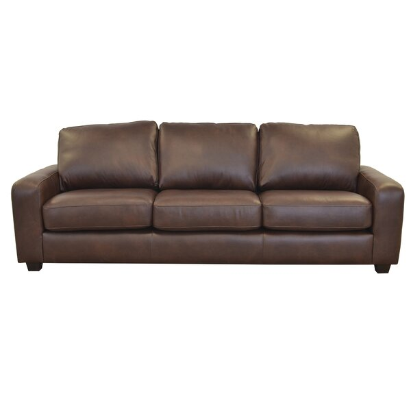 Hanson Leather Sofa by Westland and Birch
