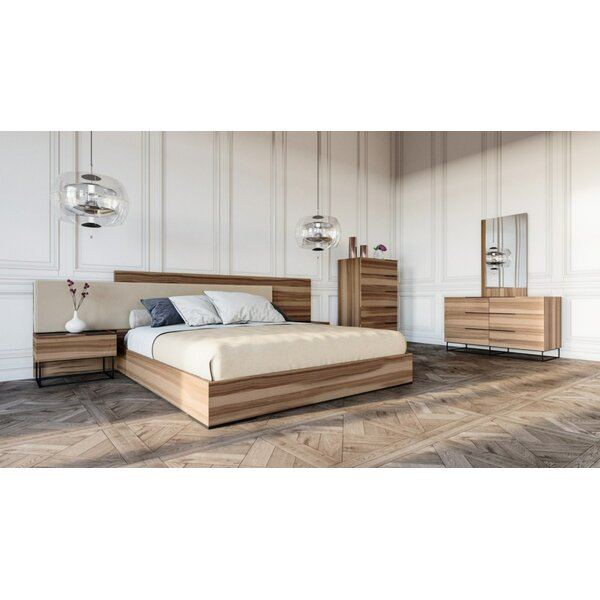 Mraz Platform 5 Piece Bedroom Set by Mercury Row
