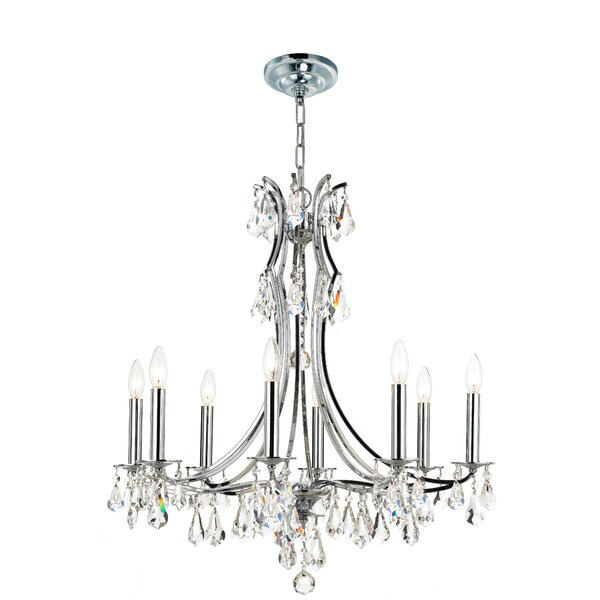 Ruano 8-Light Candle Style Classic / Traditional Chandelier by House of Hampton House of Hampton