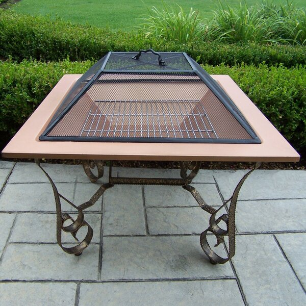Victoria Fire Pit in Copper by Oakland Living