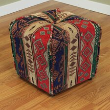 Gullane Upholstered Ottoman by Breakwater Bay