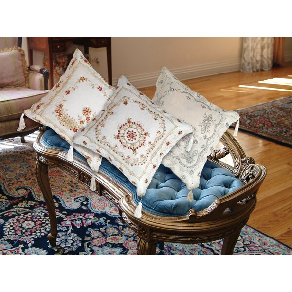 Baulkham Embroidered Pillow Cover by Astoria Grand