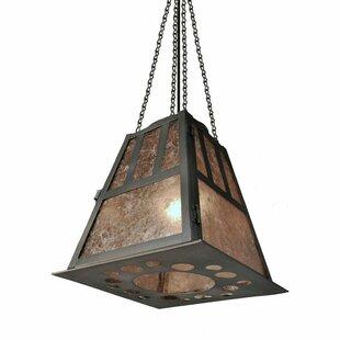 Monterey 1-Light Lantern Pendant by Steel Partners