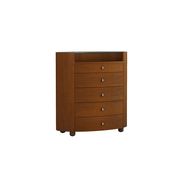 Bernstein 5 Drawer Chest by Latitude Run