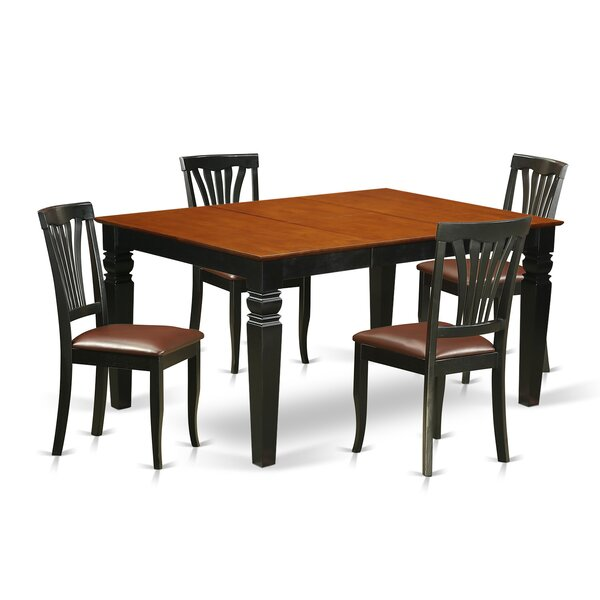 Arison 5 Piece Dining Set by Darby Home Co