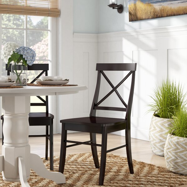 Melbourne Shores Cross Back Side Chair by Beachcrest Home