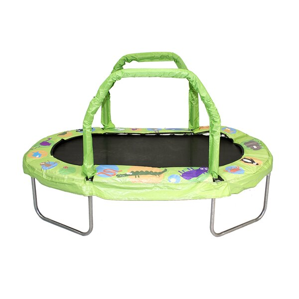 Mini Oval Trampoline with Pad by Jumpking