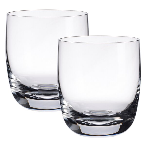 Scotch Whiskey Blended 10 oz. Crystal Cocktail Glass (Set of 2) by Villeroy & Boch