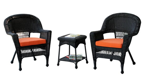 Byxbee 3 Piece Seating Group with Cushions