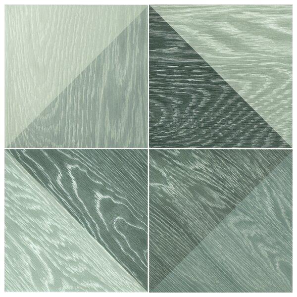 Bon Melange 6.5 x 6.5 Porcelain Field Tile in Black by EliteTile