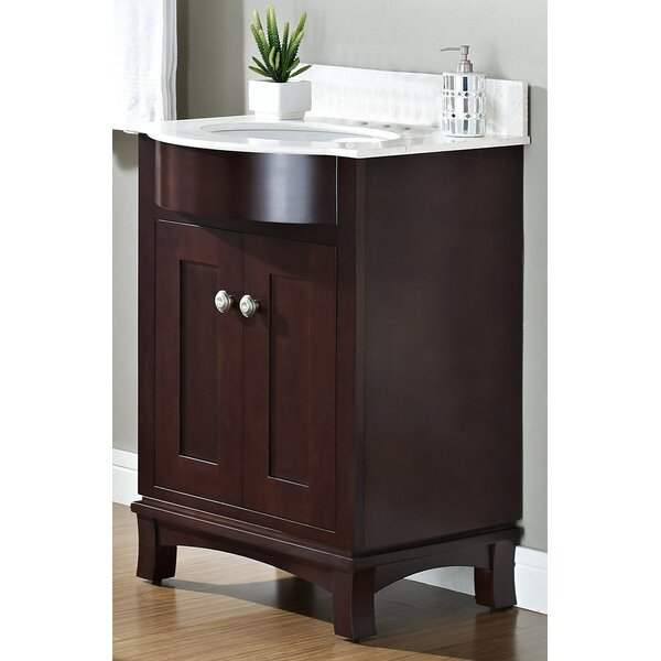 Kester Transitional 24 Wood Single Bathroom Vanity Set by Darby Home Co