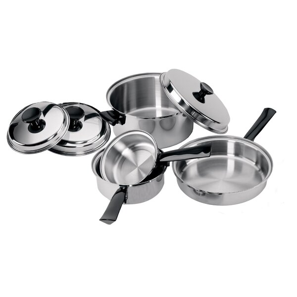 Stainless Steel Set (Set of 7) by Focus Foodservice