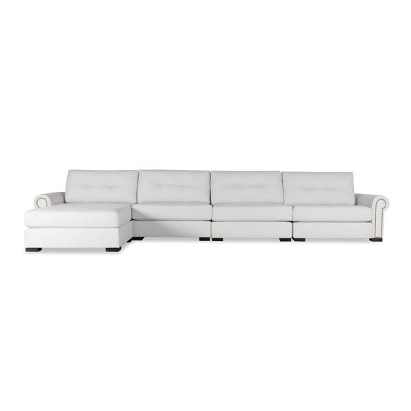 For Sale Willia Buttoned Sectional by Three Posts by Three Posts