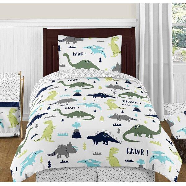 Mod Dinosaur 4 Piece Comforter Set by Sweet Jojo Designs
