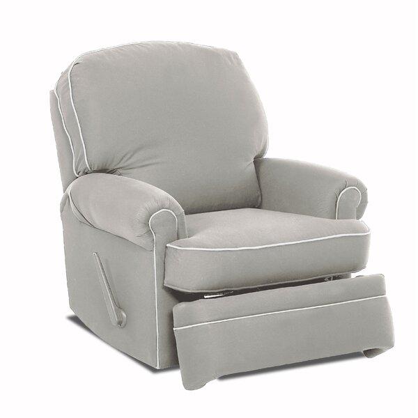 Stanford Glider Swivel Recliner by Wayfair Custom Upholstery™