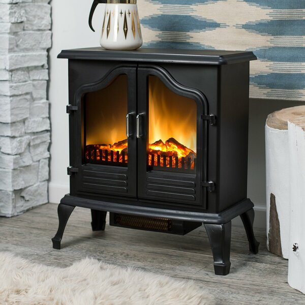 Jasper 400 sq. ft. Vent Free Electric Stove by e-Flame USA