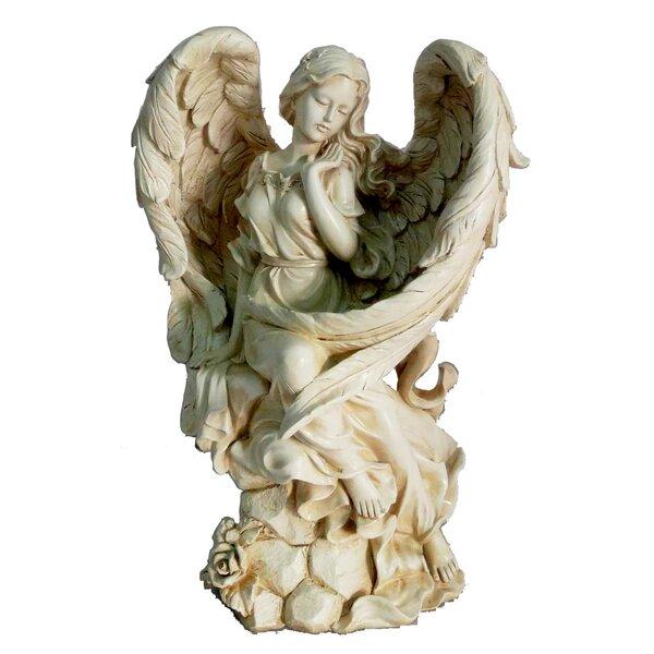 Sitting Angel Statues Wayfair